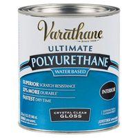 Лак акрил-уретановый на водной основе для внутренних работ Varathane Crystal Clear Polyurethane