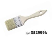 МАКО кисть плоская, светлая смесь щетины 352999k