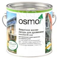 Защитное масло-лазурь для древесины OSMO Holzschutz Öl-Lasur