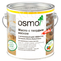 Масло с твердым воском с антискользящим эффектом OSMO Hartwachs-Öl Anti-Rutsch