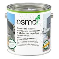 Защитное масло-лазурь для древесины с эффектом серебра OSMO Holzschutz Öl-Lasur Effekt